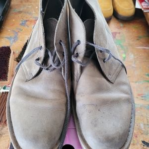 Clark's Grey Leather shoes